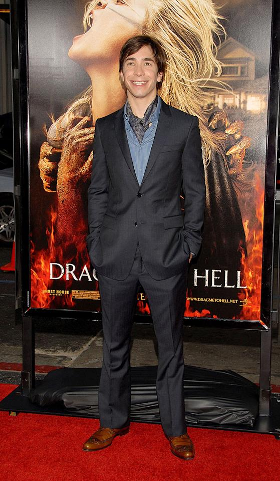 """<a href=""""http://movies.yahoo.com/movie/contributor/1804512153"""">Justin Long</a> at the Los Angeles premiere of <a href=""""http://movies.yahoo.com/movie/1810029193/info"""">Drag Me to Hell</a> - 05/12/2009"""