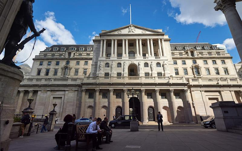 Bank of England - Credit: NIKLAS HALLE'N