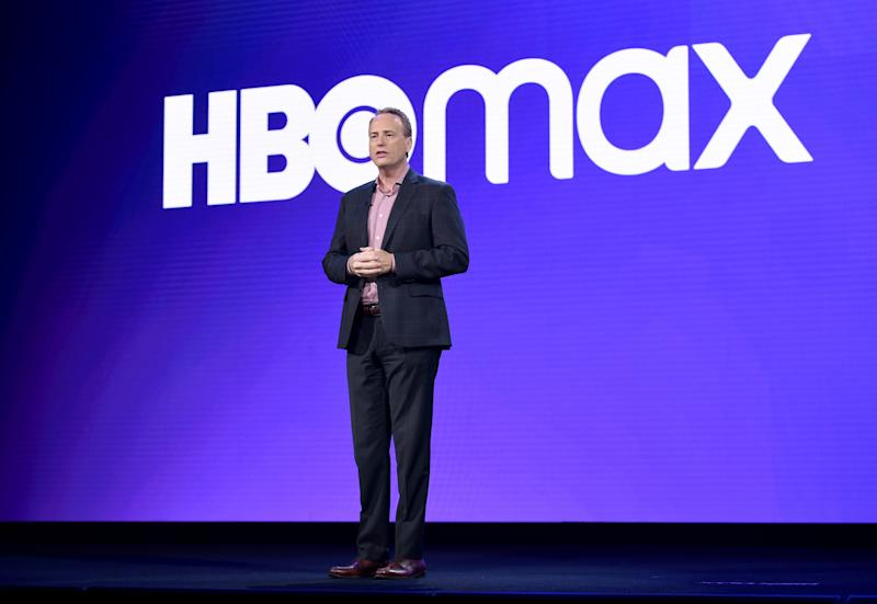 BURBANK, CALIFORNIA - OCTOBER 29: Robert Greenblatt, Chairman of WarnerMedia Entertainment & Direct-To-Consumer, speaks onstage at HBO Max WarnerMedia Investor Day Presentation at Warner Bros. Studios on October 29, 2019 in Burbank, California. (Photo by Presley Ann/Getty Images for WarnerMedia)
