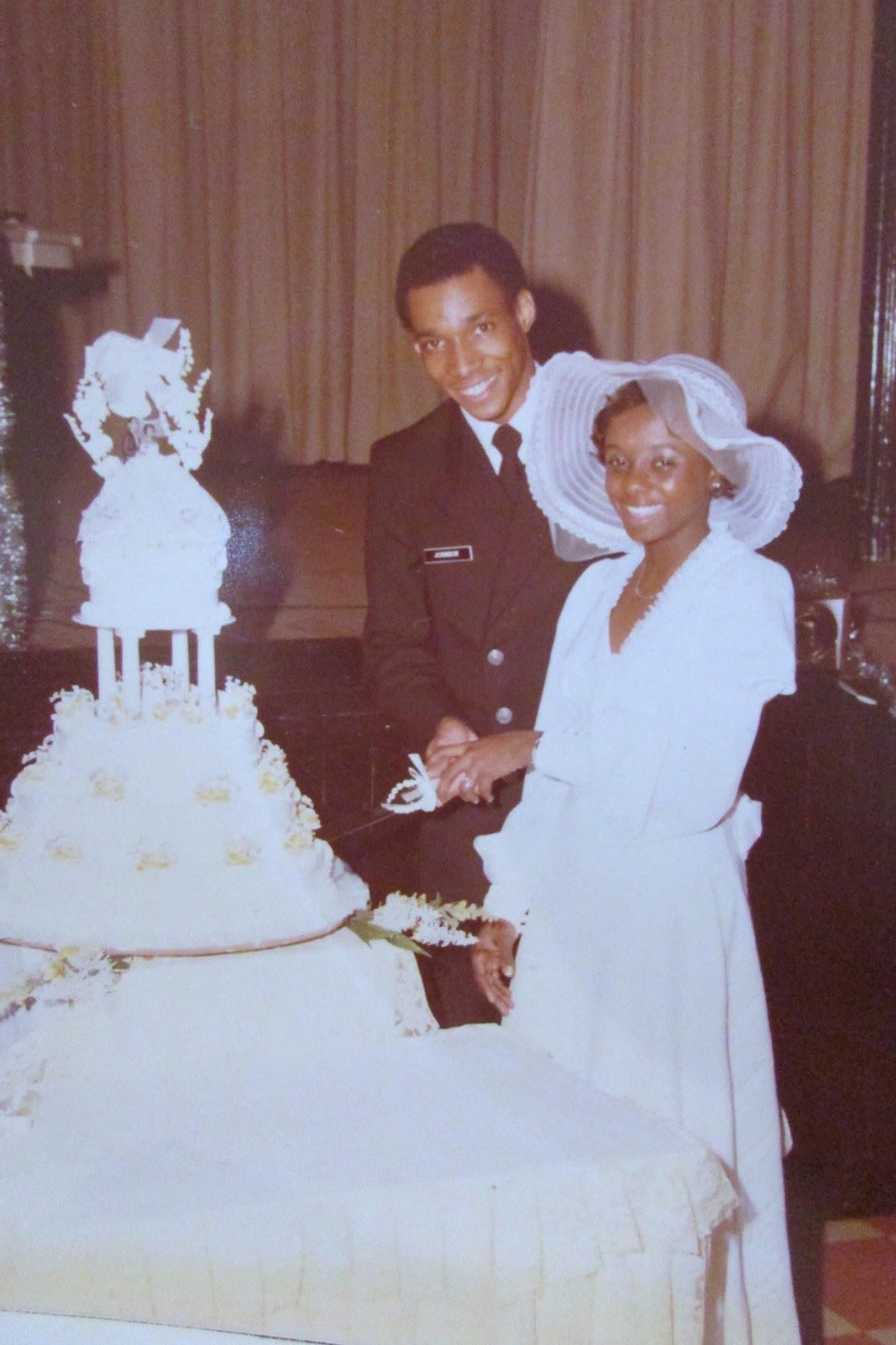 """When I got married, my grandmother and grandfather had been married some 68 years. My grandmother gave me her blessings and told me that if I got married, I had to stay married and it was a lifetime commitment."" - <em>Leslie Johnson </em>"