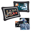 <p>There are new 'Star Wars'-themed Nabi tablets, equipped with sound effects, wallpaper, tablet stickers, and themed bumpers. </p>