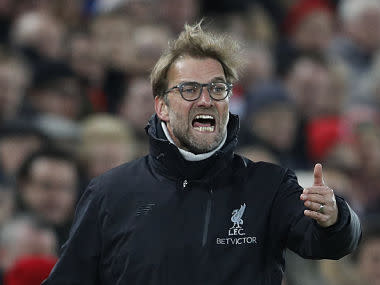 A confessed admirer of the underdog tales of Robin Hood and Rocky Balboa, Jurgen Klopp is probably uncomfortable with Liverpool's status as strong favourites in Tuesday's Champions League semi-final, first leg against Roma.