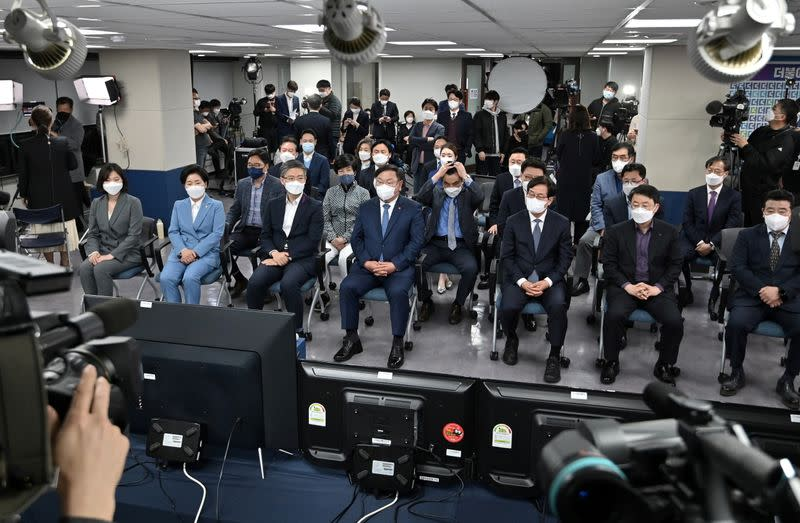 FILE PHOTO: Seoul mayoral by-election