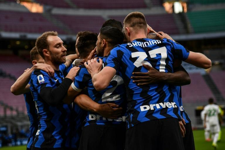 Inter Milan are on track for a first Serie A title since 2010