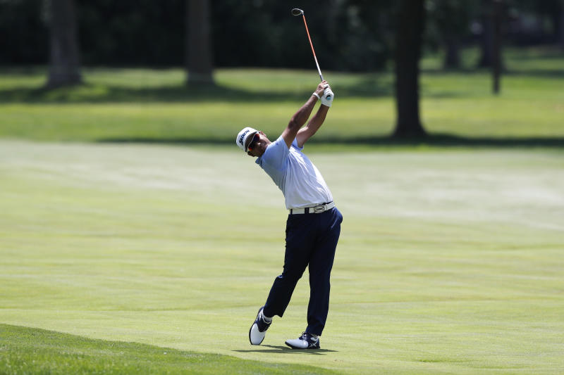 Matthew Wolff shoots 64 to take Rocket Mortgage Classic lead