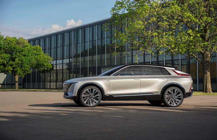 """The new Cadillac Lyriq will be an Ultium-powered vehicle. <p class=""""copyright"""">Cadillac</p>"""