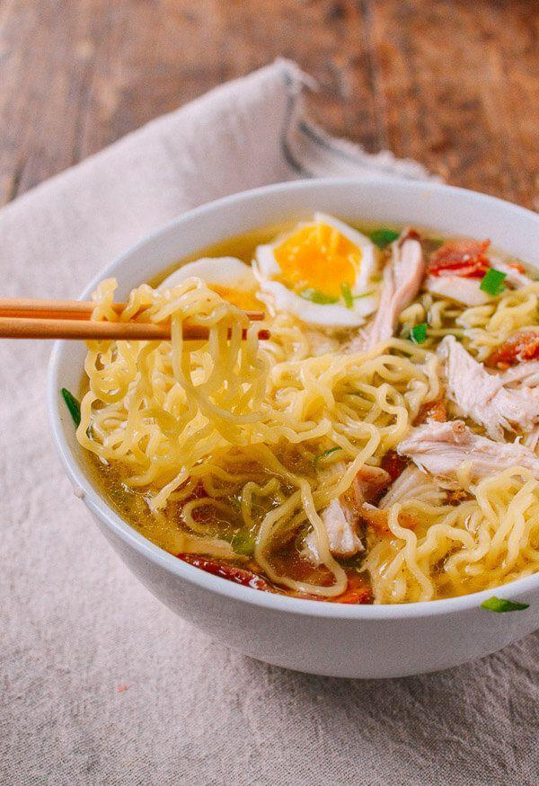 """<p>Upgrade your cup of noodles in a big way.</p><p>Get the recipe from <a href=""""http://thewoksoflife.com/2015/11/turkey-ramen/"""" rel=""""nofollow noopener"""" target=""""_blank"""" data-ylk=""""slk:The Woks of Life"""" class=""""link rapid-noclick-resp"""">The Woks of Life</a>.</p>"""