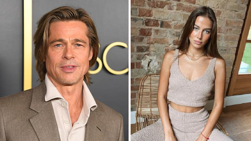 Brad Pitt 56 Dating Angelina Lookalike Nicole Poturalski 27