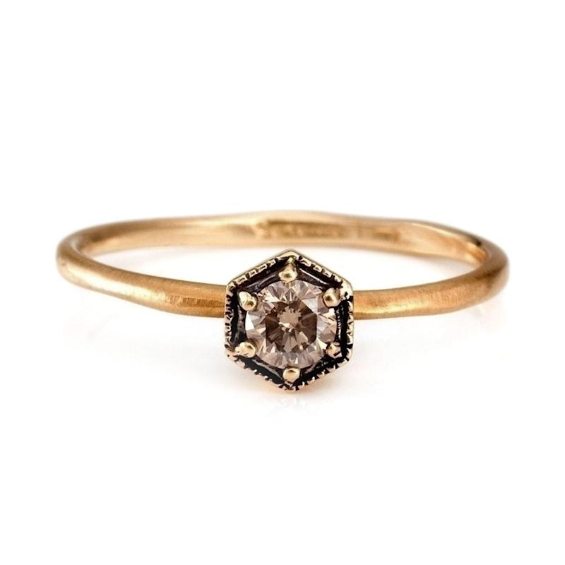 02923672a2cc3 21 Non-Traditional Engagement Rings for the Unconventional Bride