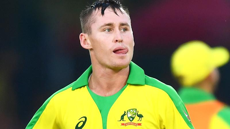 Marnus Labuschagne, pictured here after he got a golden duck in the second ODI against South Africa.