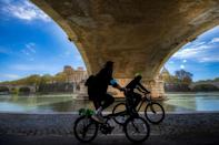 Some, including environmental activists, say Rome still has far to go before bicycles become widely used by its residents