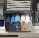 """<p><strong>The Home Edit</strong></p><p>containerstore.com</p><p><strong>$7.99</strong></p><p><a href=""""https://go.redirectingat.com?id=74968X1596630&url=https%3A%2F%2Fwww.containerstore.com%2Fs%2Fkitchen%2Fthe-home-edit-collection%2Fthe-home-edit-closet-clear-labels%2F12d%3FproductId%3D11010599&sref=https%3A%2F%2Fwww.countryliving.com%2Fhome-maintenance%2Forganization%2Fg34032194%2Fthe-home-edit-organizers%2F"""" rel=""""nofollow noopener"""" target=""""_blank"""" data-ylk=""""slk:Shop Now"""" class=""""link rapid-noclick-resp"""">Shop Now</a></p><p>Using labels helps you easily identify where everything is and makes it easier to <a href=""""https://www.goodhousekeeping.com/home/organizing/g2171/diy-closet-organizers/"""" rel=""""nofollow noopener"""" target=""""_blank"""" data-ylk=""""slk:keep an item in its place"""" class=""""link rapid-noclick-resp"""">keep an item in its place</a>. These labels come in a delicate font on clear adhesive. They also have labels for the <a href=""""https://go.redirectingat.com?id=74968X1596630&url=https%3A%2F%2Fwww.containerstore.com%2Fs%2Fkitchen%2Fthe-home-edit-collection%2Fthe-home-edit-pantry-labels%2F12d%3FproductId%3D11010742&sref=https%3A%2F%2Fwww.countryliving.com%2Fhome-maintenance%2Forganization%2Fg34032194%2Fthe-home-edit-organizers%2F"""" rel=""""nofollow noopener"""" target=""""_blank"""" data-ylk=""""slk:pantry"""" class=""""link rapid-noclick-resp"""">pantry</a>, <a href=""""https://go.redirectingat.com?id=74968X1596630&url=https%3A%2F%2Fwww.containerstore.com%2Fs%2Fkitchen%2Fthe-home-edit-collection%2Fthe-home-edit-kitchen-and-fridge-labels%2F12d%3FproductId%3D11010597&sref=https%3A%2F%2Fwww.countryliving.com%2Fhome-maintenance%2Forganization%2Fg34032194%2Fthe-home-edit-organizers%2F"""" rel=""""nofollow noopener"""" target=""""_blank"""" data-ylk=""""slk:fridge"""" class=""""link rapid-noclick-resp"""">fridge</a>, <a href=""""https://go.redirectingat.com?id=74968X1596630&url=https%3A%2F%2Fwww.containerstore.com%2Fs%2Fkitchen%2Fthe-home-edit-collection%2Fthe-home-edit-bath-and-laundry-labels%2F12d%3FproductId%3D11010598&sref=https%3A"""