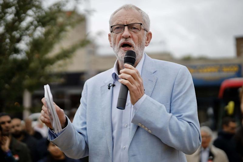 Labour Party leader Jeremy Corbyn. (AFP/Getty Images)