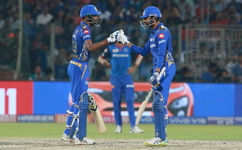 Hardik Pandya shared a vital 54-run stand for the fifth wicket with brother Krunal. Spotzpics