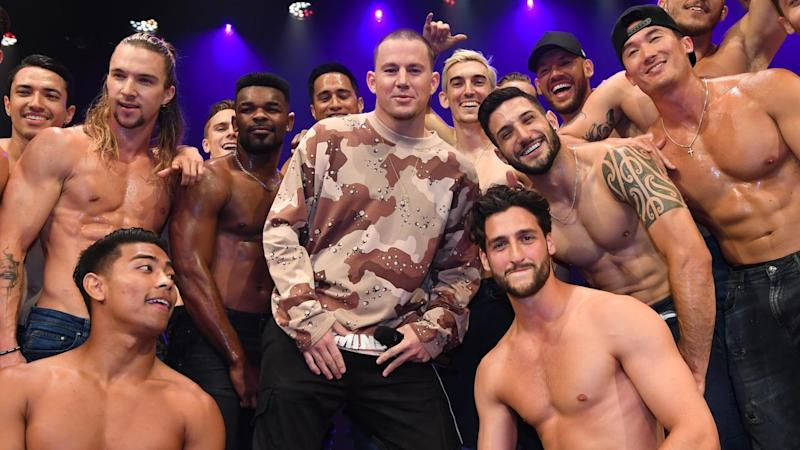 Actor Channing Tatum will bring his Magic Mike live show to Melbourne