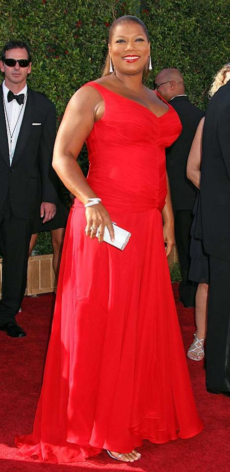 """Queen Latifah may be a surprising third place to some, but men are clearly drawn to her vivacious personality and natural beauty. Russ Einhorn/<a href=""""http://www.splashnewsonline.com"""" target=""""new"""">Splash News</a> - September 16, 2007"""