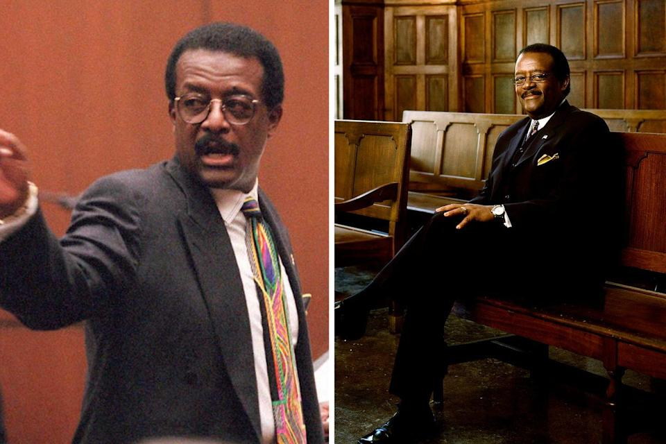 """<p>As Simpson's lead attorney on """"The Dream Team,"""" Johnnie Cochran captured the spotlight with his charisma and catchphrases—""""If it doesn't fit, you must acquit"""" has certainly entered the national lexicon. After the trial, Cochran continued to practice law and appear as a TV commentator. He died of brain cancer in 2005 at age 68. <br></p>"""
