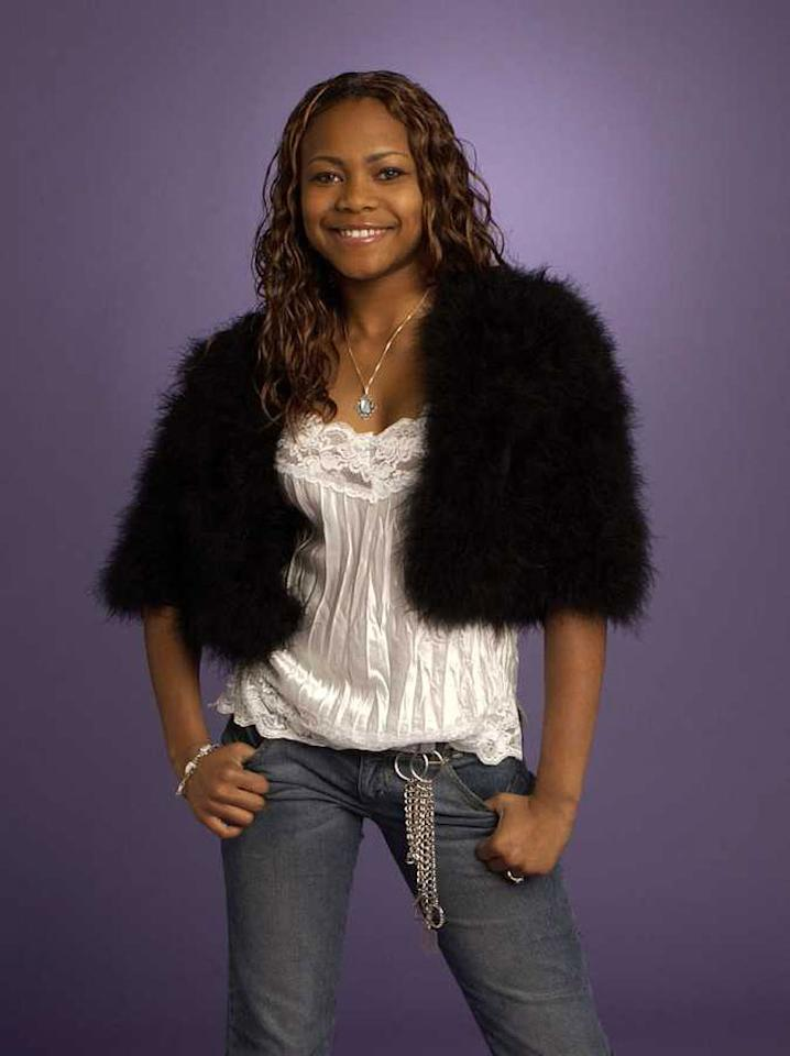 """Janay Castile from Lawreceville, GA is one of the contestants on Season 4 of """"American Idol."""""""