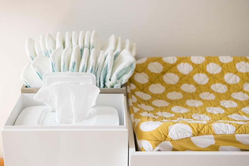 Use Walmart+ to stock up on diapers and wipes without even leaving the house. (Photo: Getty Images)