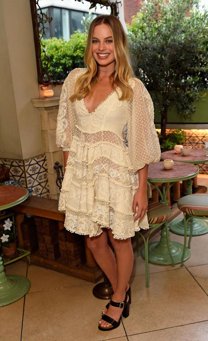 Margot Robbie wore it to a Zimmermann party - so we highly doubt she paid for it. Photo: Getty