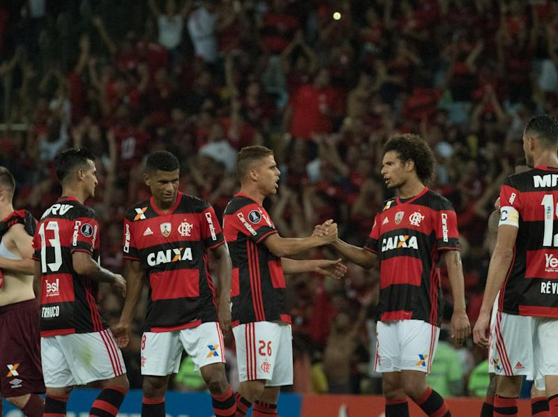 Flamengo also lay claim to the title (AFP/Getty)
