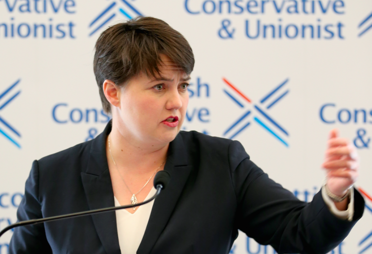 Scottish Conservatives leader Ruth Davidson has spoken to Theresa May about the DUP deal (Picture: PA)