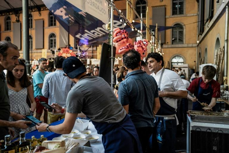 This was the 4th Lyon Street Food festival, which attracts thousands of visitors