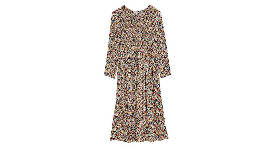 Ditsy Floral Midaxi Smock Dress