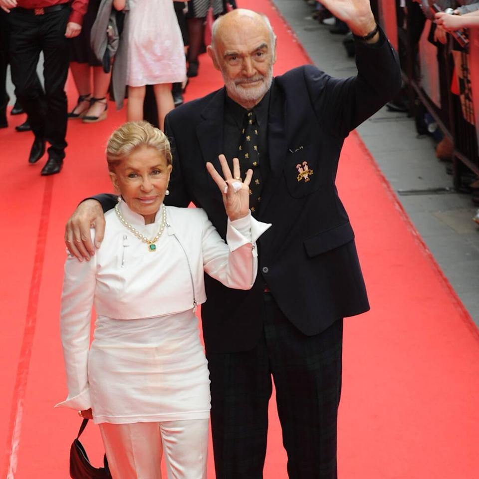 Sean Connery Battled Dementia Before Death, Wife Says