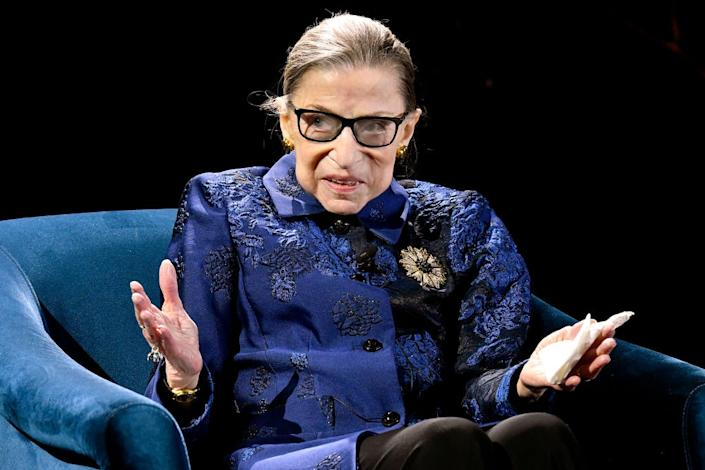 Fourth Annual Berggruen Prize Gala Celebrates 2019 Laureate Supreme Court Justice Ruth Bader Ginsburg In New York City - Inside