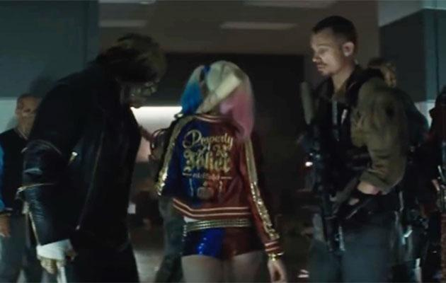 In the second version from a trailer, Margot's shorts are visibly smaller. Source: Warner Bros/Roadshow