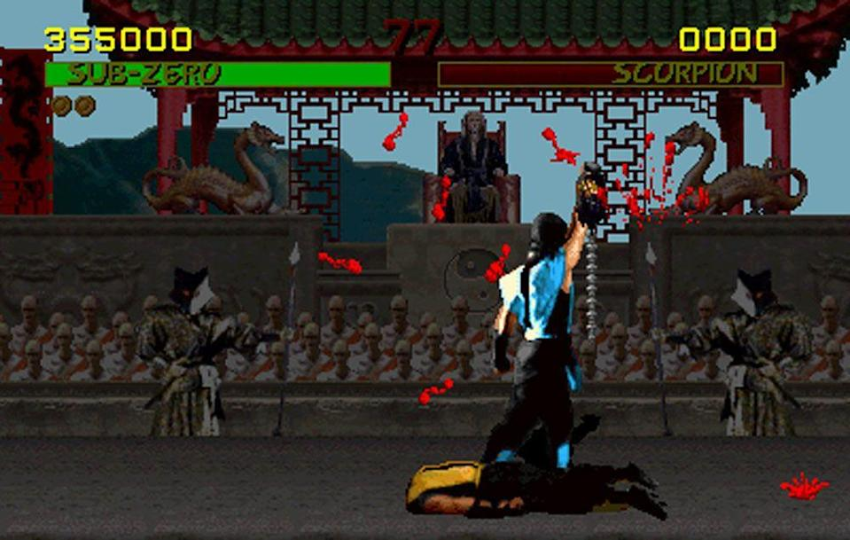 "<p><em>Mortal Kombat </em>was the arcade game you parents always warned you about, and it took arcades (and, later on, consoles) by storm. At heart a pretty simplistic one versus one fighting game—this is no <em>Street Fighter II </em><span class=""redactor-invisible-space"">—what <em>Mortal Kombat </em><span class=""redactor-invisible-space""><span class=""redactor-invisible-space"">had going for it was pure gore. You rip people's heads off, tear out hearts, set people on fire. The fact that it was later part of Senate hearings in 1993 only increased its appeal. (Pro gaming strat for lawmakers: If you want to make sure kids really, really want to see something, hold hearings on how awful and disgusting it is.)</span> </span></span></p>"