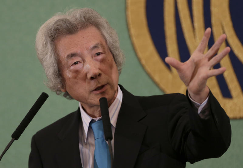 Japan ex-leaders join calls against nuclear power