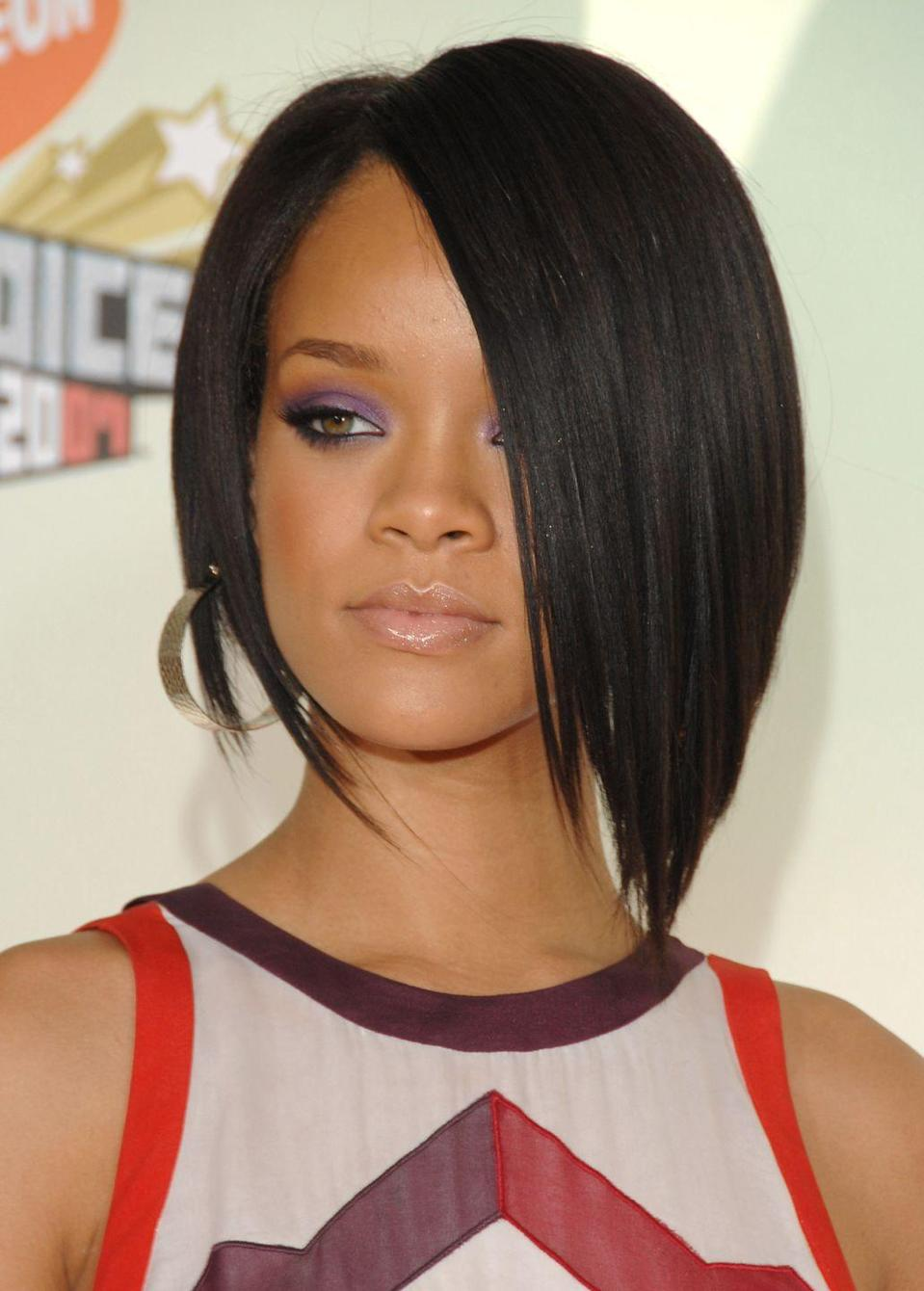 <p><strong>Rihanna</strong>'s iconic angled bob prompted millions of women to head to the salon for her cool asymmetrical style. It's still a great option if you want a sexy cut that can be styled several different ways.</p>