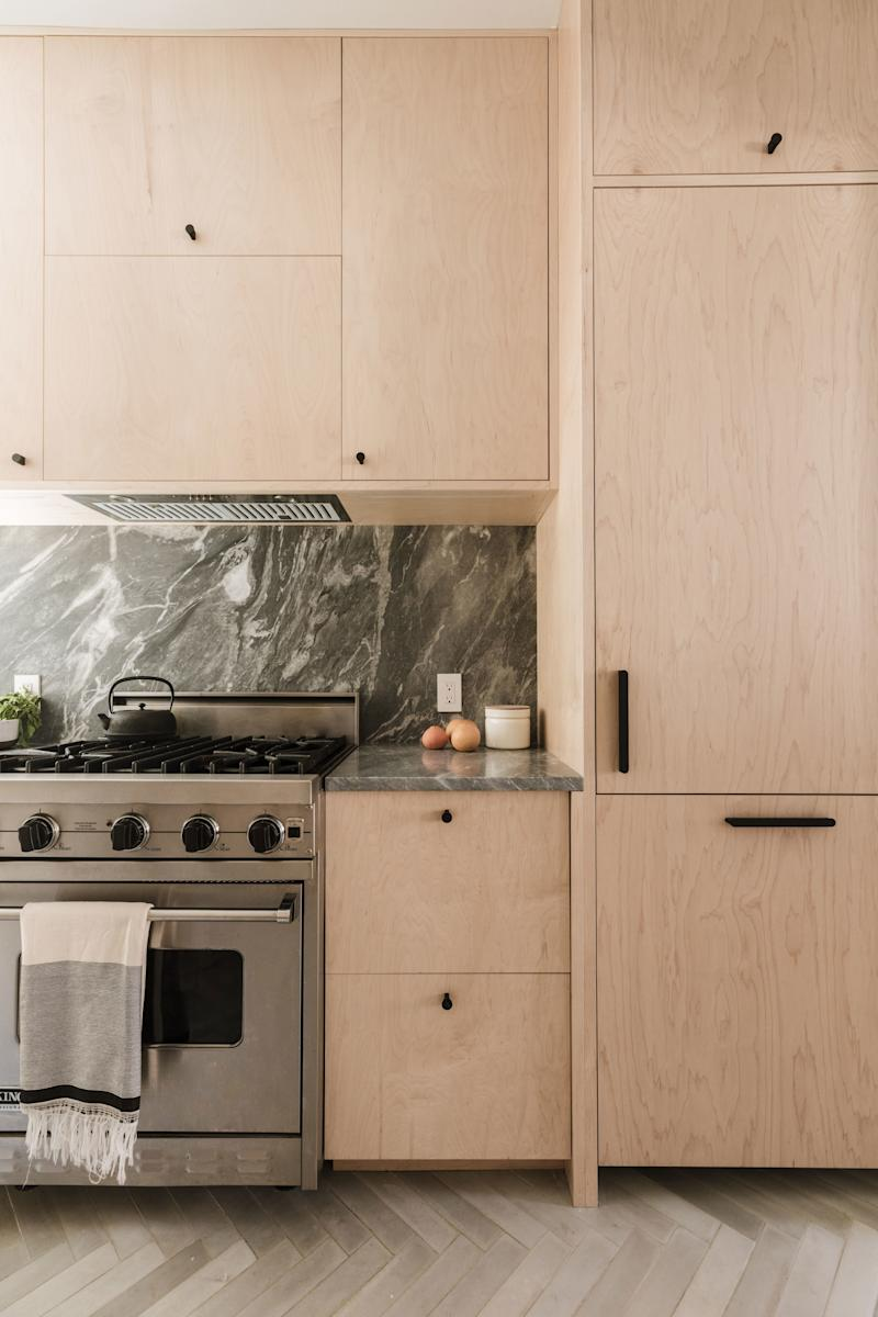 If you're into redemption stories—and, really, who isn't?—the tale of this cramped kitchen and bath turned mega-zen apartment by Shapeless Studio is worth a read for the finishes alone.