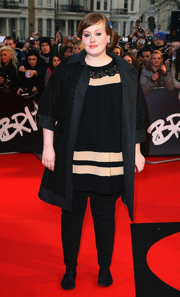 <p>Adele has had many memorable BRITs moments over the years, from the moving performance of 'Someone Like You' to flipping the bird at producers when she was cut off during her acceptance speech but it all started here in 2008.</p>