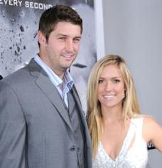"Jay Cutler and Kristin Cavallari arrive at the Los Angeles premiere of ""Source Code"" held at ArcLight Cinemas Cinerama Dome in Hollywood, Calif. on March 28, 2011  -- Getty Premium"