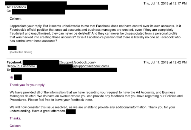 Why doesn't Facebook help after your account gets hacked?