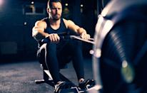 """<p>The cardio row machine was once reserved for professional rowers. But not anymore. </p><p>These days, thanks in part to CrossFit, rowing is having a moment. Boutique rowing studios are thriving, and rowing machines are commonplace in plenty of gyms. Every CrossFit box has rows upon rows of Concept2 rowers, and rowing competitions are increasingly popular, too.</p><p>""""It's a total-body workout that uses most of the muscles in your body during every stroke with little to no impact,"""" says Lisa Niren, a group fitness instructor and CITYROW trainer. """"It burns fat while providing extreme cardiovascular fitness and ridiculous muscular endurance.""""<br></p><p>Compared to other full-body cardio sports—swimming and cross-country skiing, for example—you'll build more strength and power while rowing, says Eric Von Frohlich, CrossFit Level 1 certified trainer and founder of EVF Performance and Row House NYC. """"Rowers tend to be more muscular than other endurance athletes: their backs, shoulders and arms are thicker and stronger. A good, powerful row stroke is similar to a <a href=""""http://www.menshealth.com/fitness/10-secrets-perfect-kettlebell-swing"""" rel=""""nofollow noopener"""" target=""""_blank"""" data-ylk=""""slk:kettlebell swing"""" class=""""link rapid-noclick-resp"""">kettlebell swing</a> or a <a href=""""http://www.menshealth.com/fitness/10-secrets-to-the-perfect-deadlift"""" rel=""""nofollow noopener"""" target=""""_blank"""" data-ylk=""""slk:deadlift"""" class=""""link rapid-noclick-resp"""">deadlift</a> because you have to engage your core so the power from your legs transfers to the handle.""""</p><p>Rowing is also by nature a strength movement, essentially a blend of a deadlift and a barbell row. That's an ideal combination that everyone should do, hitting all the posterior-chain muscles that can easily get weakened by all the sitting that takes place in 2019 society. </p><p>Rowing is also easy to program into any workout, because you can get plenty of oomph from a rowing workout in just 10 to 15 minutes, and you can eas"""