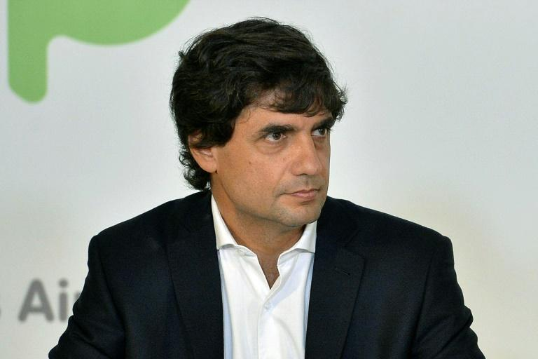 Hernan Lacunza will become Argentina's new economy minister (AFP Photo/HO)