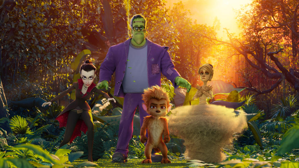 'Monster Family 2' is a sequel to the first ever Sky Cinema original movie, which was released in 2017. (Timeless Films/Sky Cinema)