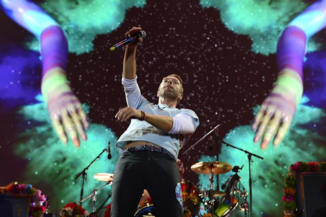 <p>No. 6: Coldplay<br>2016 earnings: $32.3 million<br>(AP) </p>