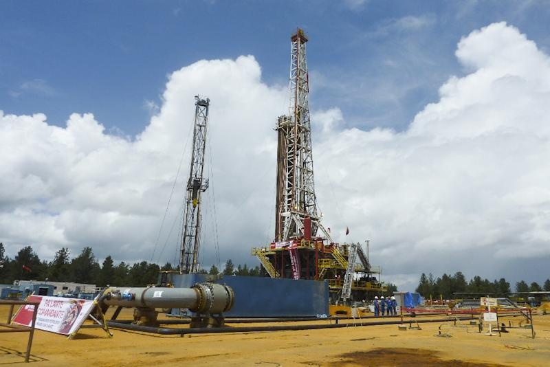 A Venezuelan default could trigger a global rush to seize assets owned by the government and state oil company PDVSA, one of whose oil wells is seen in Morichal in 2011