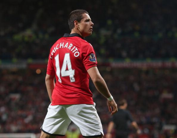 Javier Hernandez Chicharito Manchester United v Liverpool - Capital One Cup Third