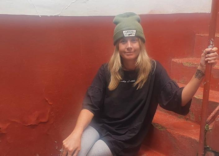 Steff Kidd has been isolated in a Peruvian hostel for the past fourteen days and has been told to 'hope' for a flight home.