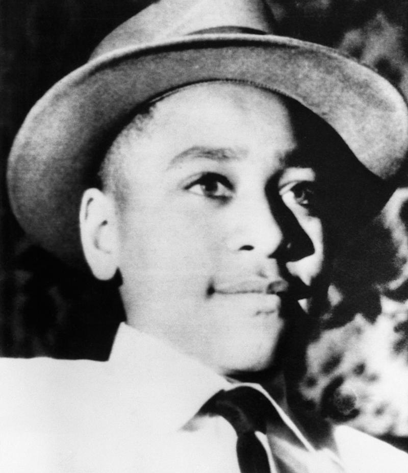 Chicago native Emmett Till, 14, was brutally murdered in Mississippi after a white woman accused of him of sexual misconduct in a store in 1955. She later recanted her allegations. (Bettmann / Getty Images)