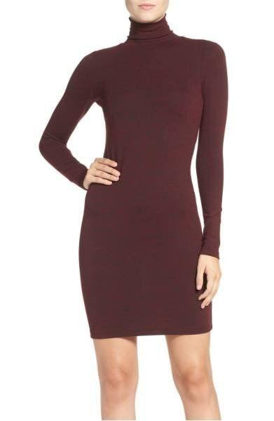 "40% off from $98. Get it <a href=""https://shop.nordstrom.com/s/french-connection-sweeter-turtleneck-sweater-dress/4464246?origin=category-personalizedsort&fashioncolor=BLACK"" target=""_blank"">here</a>."