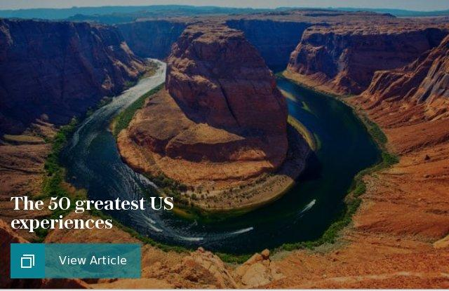 50 greatest US experiences