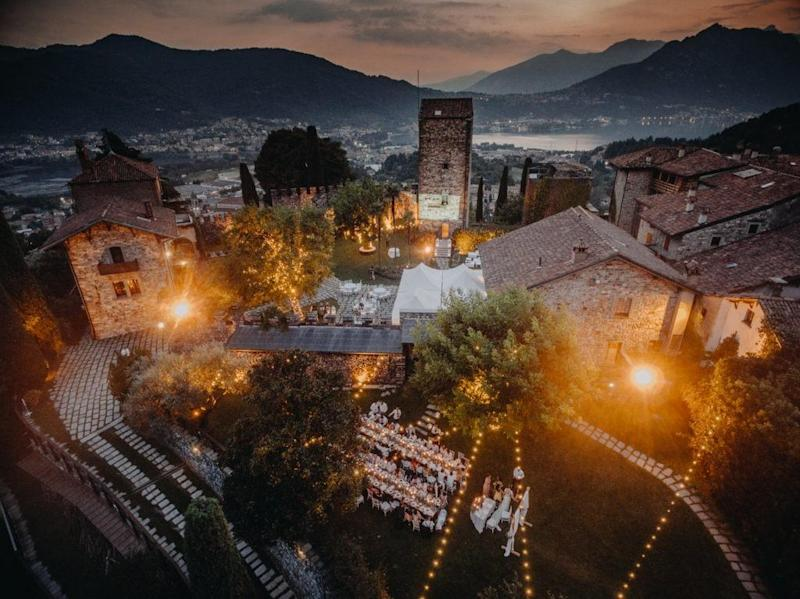 Castello di Rossino, location da sogno per matrimoni sul Lago di Como con wedding planner