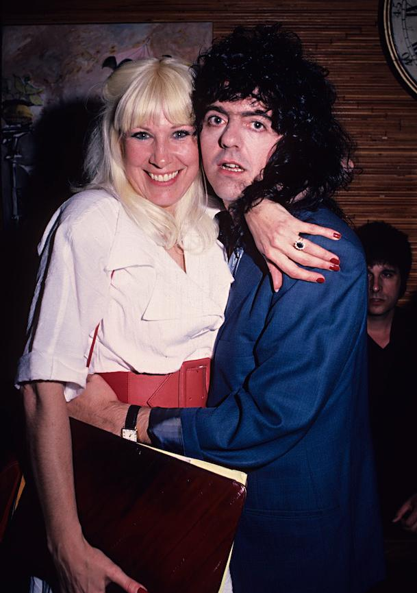 Wendy Dio and Jimmy Bain (Photo: Mark Weiss)